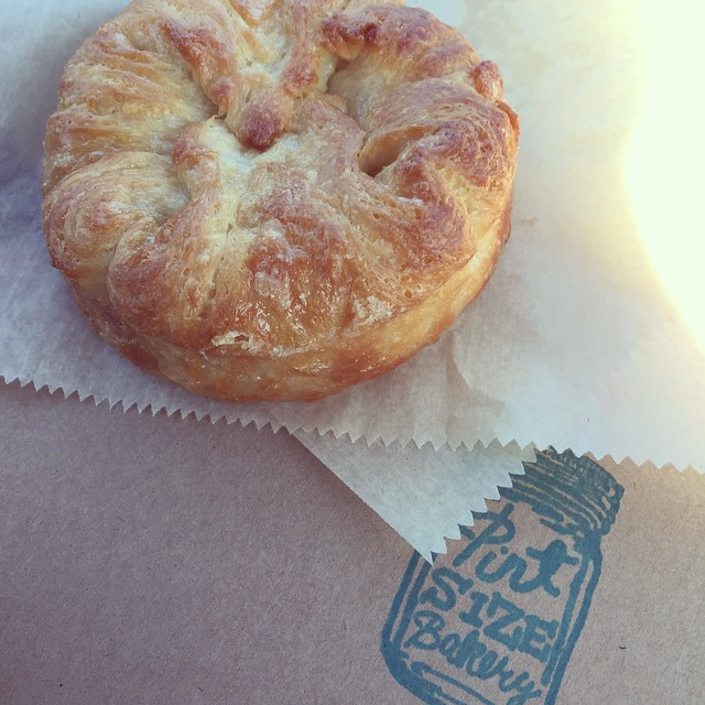 St Louis-Based Pint Size Bakery's Salted Caramel Croissants