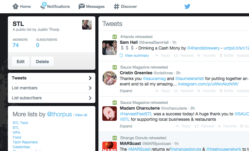 Twitter Lists Have Become My Favorite TwitterFeature